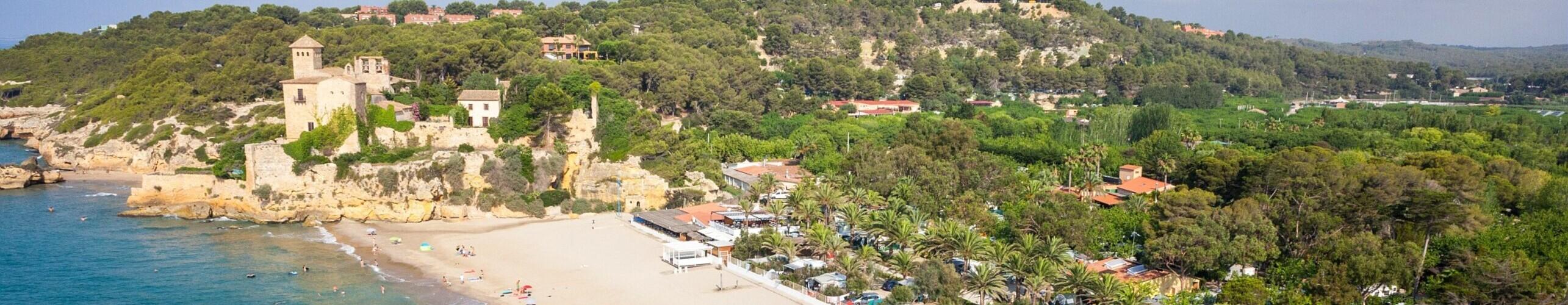 Vue aérienne de la Costa Dorada