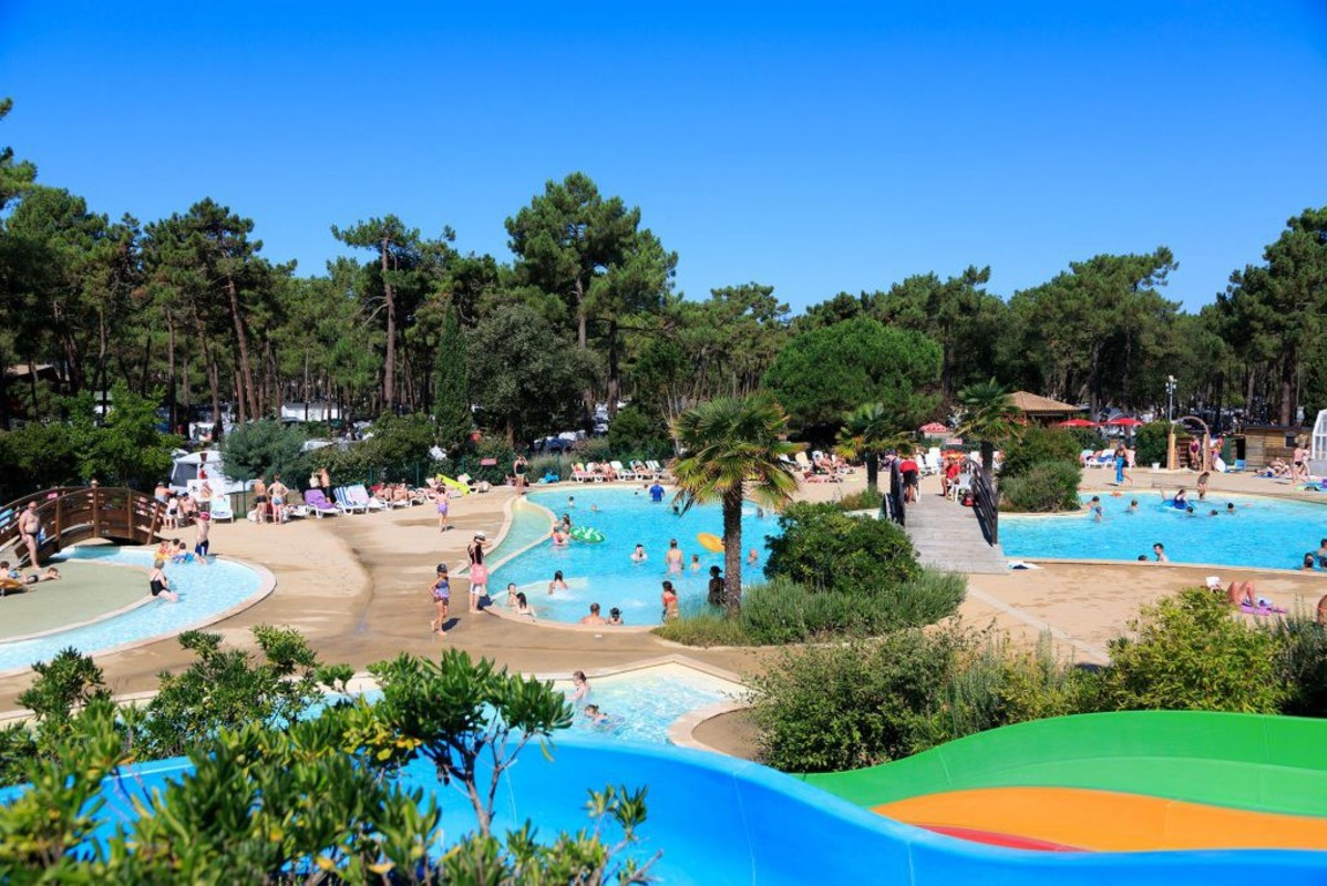 Camping La Côte d'Argent, France, Gironde, Hourtin