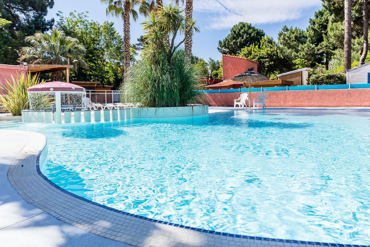 La piscine du Bosquet  - Camping La Marina de Canet - Le Bosquet, France, Languedoc Roussillon, Canet-en-Roussillon