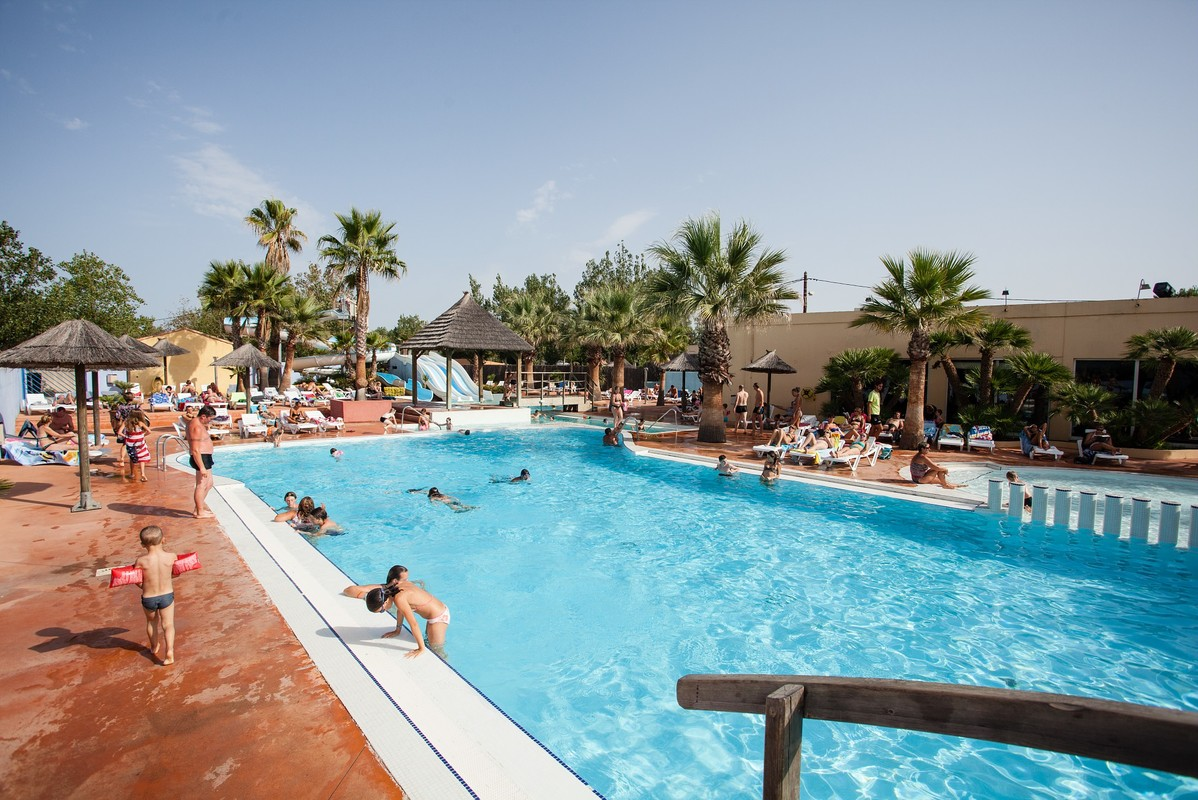 Camping Les Méditerranées - Camping Charlemagne, Francia, Languedoc-Rosellón, Marseillan