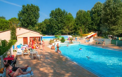 Camping Le Domaine de Gaujac, Francja, Langwedocja Roussillon, Anduze