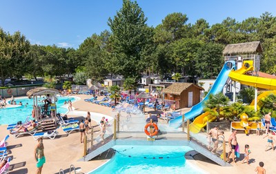 Campsite Lou Pignada, France, Landes, Messanges